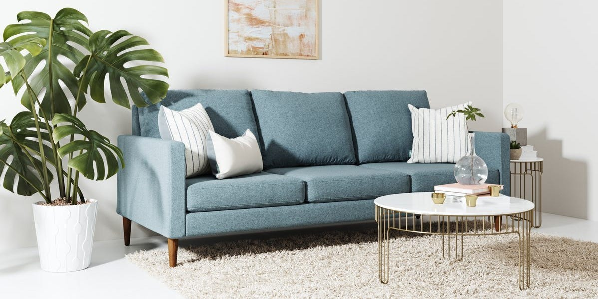 What kind of foam cushion is best for couch longevity?